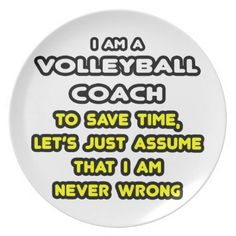 Funny Volleyball Coach T-Shirts and Gifts