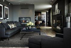 - Lilly is Love House Of Turquoise, Sofa Design, Living Room Sofa, Living Room Decor, Black Interior Design, Dream Decor, Minimalist Home, Home And Living, Living Room Designs