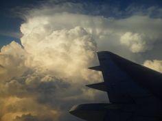 Zza okna samolotu