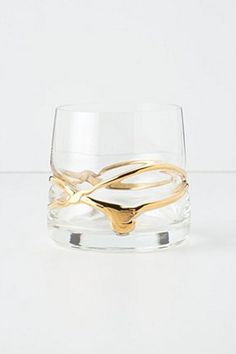 Pooled Gold Tumbler | Anthropologie.eu