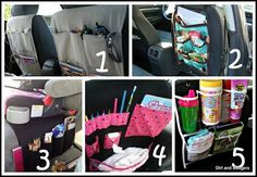 More ways to get your kids organized in the car!