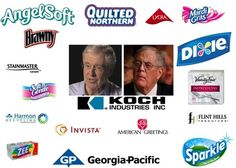 With every shopping trip, we could be spending our hard-earned money supporting the Koch brothers' radical anti-worker, anti-environment, anti-democratic agenda. | Sign the pledge: Don't buy Koch products