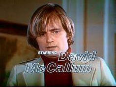 """David McCallum in """"The Invisable Man""""."""