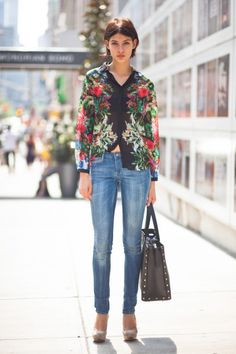 How To Dress Up Jeans   StyleCaster