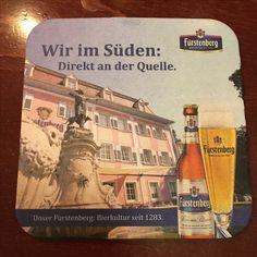 Fürstenberg - Olivenbaum Pankow Beer Coasters, Ale, Olive Tree, Beer Bottle Caps