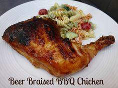 Adventures of Valley Writer: Beer-Braised BBQ Chicken
