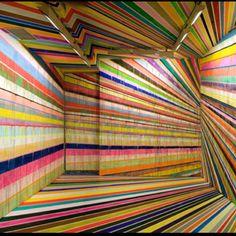 Markus Linnenbrink's painted room.