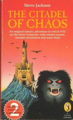 The Citadel of Chaos, gamebook #2.