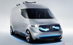 Mercedes-Benz Reveals All-Electric 'Vision Van' Concept