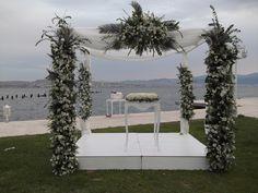 Ayşe & Samet nikah gazebosu #izmirarena #weddingdecoration #dugun #düğün #aysesametevleniyor #davetvarorganizasyon