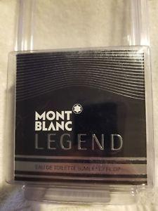 Mont Blanc Legend For Men 1.7 fl oz (50 ml) Eau De Toilette EDT Spray New Sealed
