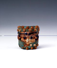 Phoenician or Carthaginian Glass Head Bead | Flickr: Intercambio de fotos