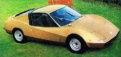 Volkswagen 1600 SS, 1979 by Lombardi. A Bettle-based coupé concept by the Italian coach builders