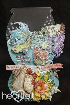Heartfelt Creations | Fish Bowl Card