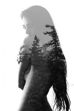 Reminds me of You SO MUCH. Hair, trees, future tattoo for our familweeee <3 @NooksBravo