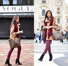 Patricia Do Nascimento - H&M Boots, Louis Vuitton Bag, Zara Coat - EASTER IN…