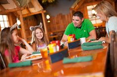 Have a great meal together at The Loose Moose Cottage inside Great Wolf Lodge. Home of the kid-favorite wolf waffle and a pile-your-plate-high buffet!