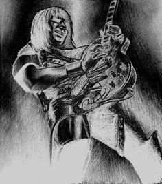 Mick Mars Guitar Solo Silver by aerokay