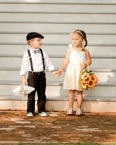 Adorable ring bearer outfit!