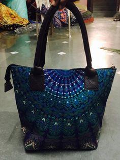 516650a594c9 indian handmade decorative bags boho bags mandala bags tote bags designer  bags cotton bags mandala tapestry bag