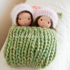 Waldorf inspired Baby Dolls - Little Sisters