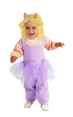 The Muppets Romper Miss Piggy Baby Costume