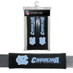 North Carolina Tar Heels Seat Belt Shoulder Pad Covers