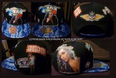 CUSTOM MADE FOR JOSELINE HERNANDEZ FROM LOVE AND HIP HOP.