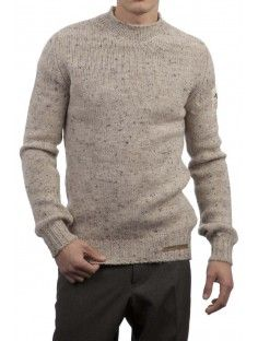 Men's Famous Grouse 100% British Wool High Neck Fitted Jumper