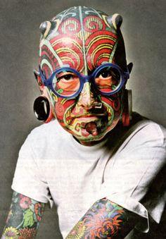 Zombie Boy n'a plus ses tatouages