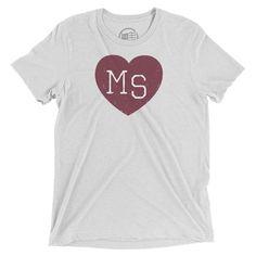 Mississippi Heart T-Shirt