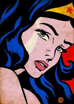 Wonder Woman -Pop Art
