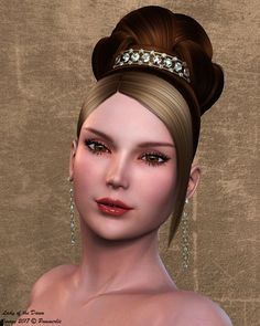 Lady of the Dawn. Base Hivewire Dawn, part Oriana for Dawn & part Sora for Dawn. With Sora body mats and Oriana eyes.