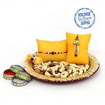 Dry fruit N Rakhi Combo International