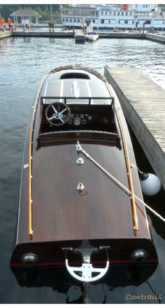 Ditchburn Raceboat John Ringling Wooden Speed Boats, Chris Craft Boats, Runabout Boat, Classic Wooden Boats, Classic Yachts, Boat Projects, Vintage Boats, Float Your Boat, Old Boats