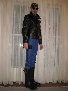 gay uniform dad