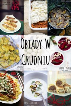 Pomysły na obiady w Grudniu Polish Recipes, My Recipes, Diet Recipes, Cooking Recipes, Fig Cake, Food Festival, Food Porn, Food And Drink, Menu
