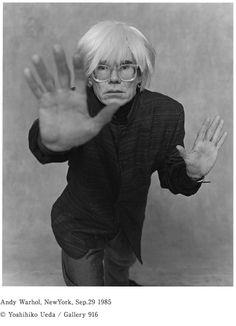 Yoshihiko Ueda 1985, Andy Warhol, 写真にドキドキし続けている。写真家・上田義彦さんの35年。 - ほぼ日刊イトイ新聞