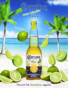 Corona Con Limon – Never be limeless again - Ad Campaign Renere Studios 940 E. Santa Ana Blvd Santa Ana, California  92701 (714) 481-0467 #AdvertisingPhotography #BeveragePhotographer #ProductPhotographer #CommercialPhotographer #AdvertisingAgency  #Advertising #Marketing #Photography #ProductPhotography