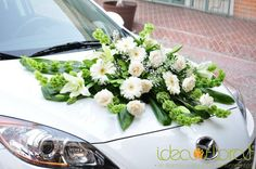 Arreglo de auto para boda