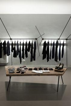 Black, black, black and more black - dream wardrobes - llot llov . ruby store #concept #store