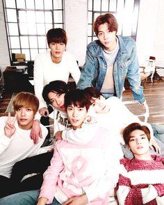 Taeil, Johnny, Hansol, Ten, Doyoung, Jaehyun & Taeyong