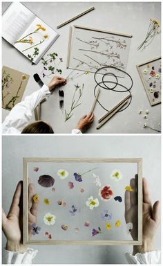 Frame by Moebe I wonder if you could just press flowers in-between glass like this?