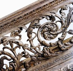 Pearce, Edmund [Attributed] - Carved English Baroque Balustrade From Cassiobury Park, Watford {Demolished 1927} (1677-80) [Metropolitan Museum Of Art, NYC]