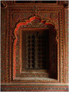 Window niche, mahansar in Rajasthan by Nevil Zaveri on Flickr.