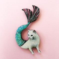 Cat Lover Gifts, Cat Gifts, Cat Lovers, Crazy Cat Lady, Crazy Cats, Mermaid Cat, Foster Cat, Kitten Rescue, White Kittens