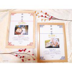 *子育て感謝状*和デザイン | ハンドメイドマーケット minne Polaroid Film, Bridal, Frame, Wedding, Picture Frame, Valentines Day Weddings, Weddings, Frames, Bride