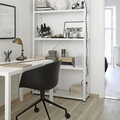 my scandinavian home: White, wood and greys in Stockholm