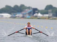 Alan Campbell wins yet another medal for Team GB with bronze in the men's single sculls - Rowing - Olympics - The Independent