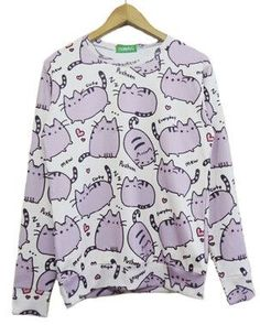 Dmart7dealNew Fashion Men/women cartoon pusheen cat sweatshirt printed moleton 3d animal hoodies sweatshirts women hoody plus size S-XXL